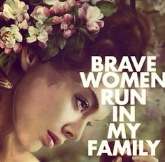 Brave women. Photo credit (Bobbie Houston).