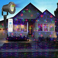 projection laser and control homepro aluminum lighting projector red blue alloy remote christmas led rf landscape lights with product
