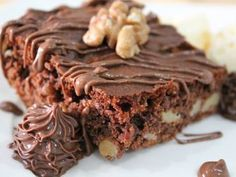 Receita de Brownie de Nutella com Nozes - Tudo Gostoso