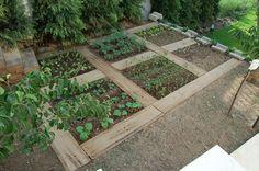 Traversten sebze bahçesi