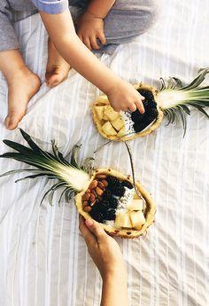 Pineapple Breakfast Boats #heathy