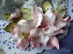 Счастливые моменты: Цветок гардении ручной работы