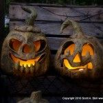here is a quick tutorial on making pumpkins.