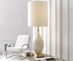 Table Lamps, Giant Ivory Porcelain Table Lamp, so retro, one of over 3,000 limited production interior design inspirations inc, furniture, lighting, mirrors, tabletop accents and gift ideas to enjoy repin and share at InStyle Decor Beverly Hills Hollywood Luxury Home Decor enjoy & happy pinning