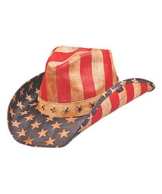 b21be7aa1fc Look what I found on  zulily! Blue Justice Cowboy Hat by Peter Grimm Hats