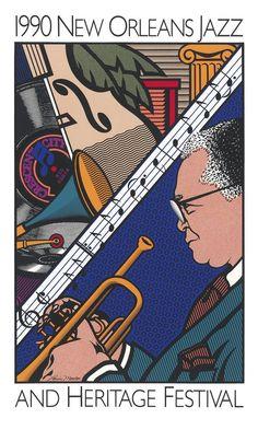 Jazz Fest Poster 1990