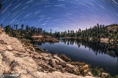 Lyrid Meteor Shower@Rose Canyon Lake, Tucson, AZ http://www.sean-parker.com/