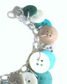 Summer Jewelry  Bracelet Charm Sand 'nSurf by LovesParisStudio, $30.00