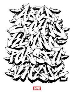 Strictly reference, don't bite... Grafitti Alphabet, Graffiti Lettering Alphabet, Tattoo Lettering Fonts, Graffiti Font, Graffiti Tagging, Graffiti Designs, Graffiti Drawing, Graffiti Styles, Graffiti Artists