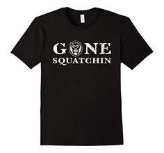 Men's Bigfoot T Shirt Gone Squatchin Bigfoot Sasquatch Gift Small Black Shoppzee Bigfoot Tee http://www.amazon.com/dp/B01DGA8XP4/ref=cm_sw_r_pi_dp_-mzcxb08AYCH1