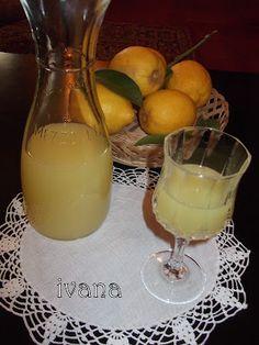 С нож и вилица в ръка: Лимончело - домашен лимонов ликьор