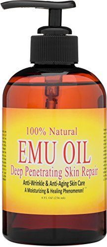 100 Natural Emu Oil Deep Penetrating Skin Hair Nail Hydration Serum 8 OZ >>> Want additional info? Click on the image. Emu Oil, Olive Fruit, Face Skin Care, Aromatherapy Oils, Massage Oil, Best Face Products, Anti Wrinkle, Anti Aging Skin Care, 1 Oz