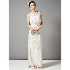 Buy Phase Eight Bridal Hope Wedding Dress, Ivory Online at johnlewis.com