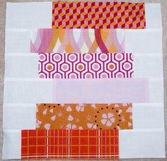 Tutorial - Offset Stacked Coins | by Kristy @107 Quilts