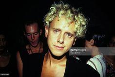 Martin Gore of Depeche Mode at Club USA, New York, New York, September 23, 1993.