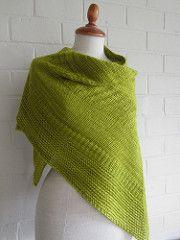FREE - Passe-partout shawl pattern by maanel