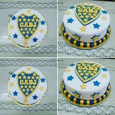 Torta de boca juniors Paw Patrol Party, Food And Drink, Cake, Birthday, Desserts, Ideas, Diy Dog, Cakes With Fondant, Amazing Cakes