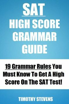 7 SAT Grammar Rules You Should Know