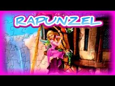 Rapunzel Escapes the Tower Puzzle - Kids Learn & Play Toy Puzzle Games - YouTube