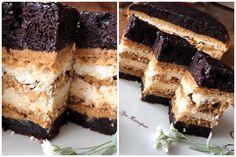 "Пляцок ""Лебедине озеро"" Polish Cake Recipe, Cake Recipes, Cheesecake, Food And Drink, Sweets, Cookies, Baking, Pies, Kuchen"