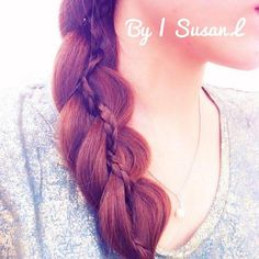 5 strand inside out braid