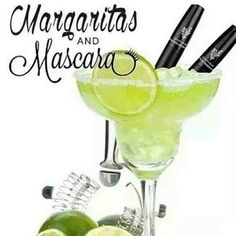 Margarita Mondays and Mascara!!! The 3 Magical M's!! Youniques 3D Fiber Lash+ Mascara!! www.Youniqueproducts.com/VictoriasFabulousLashes