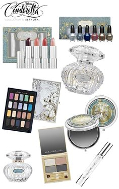 Disney Cinderella Collection by SephoraEver After Blog | Disney Fairy Tale Weddings and Honeymoon