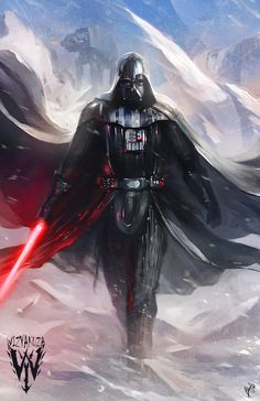 Star Wars - Darth Vader by Wizyakuza | Ceasar Ian Muyuela *