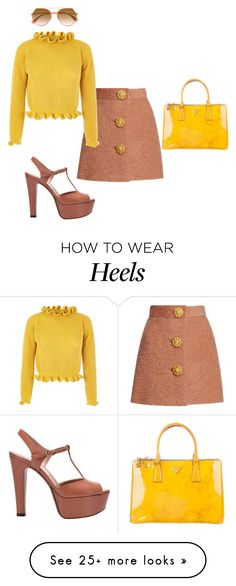 """""""Untitled #633"""" by glamgurl32 on Polyvore featuring Fendi, L'Autre Chose and Prada"""