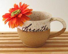 Breathe coffee mug by JustMare