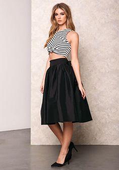 http://www.loveculture.com/black-classic-bow-tie-midi-skirt-352.html