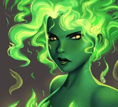 One face a day #55/365. Fire (DC comics) by Dylean on @DeviantArt