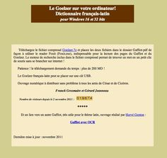 Goelzer - Dictionnaire français-latin pour le thème - Fichier PDF à télécharger