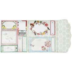 Pip Studio Pip Flowerland Sticky Notes ($17) ❤ liked on Polyvore featuring home, home decor, stationery and multi