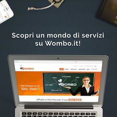 Visita il nostro #sitoweb Wombo.it e scopri tutti i nostri #servizi! #web #website #marketing #branding #logo #design #agency #agencylife #project #work #follow #bestoftheday #picoftheday #phooftheday #milano #milan #womboit