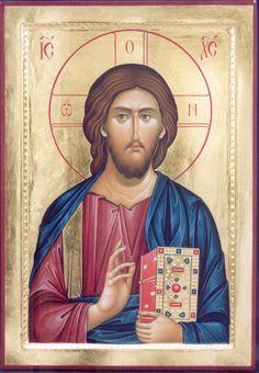 Byzantine Icons, Byzantine Art, Religious Icons, Religious Art, Trinidad, Greek Mythology Art, Roman Mythology, Archangel Raphael, Biblical Art