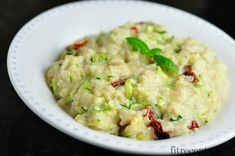 Very easy and light creamy zucchini risotto recipe, that you can customize to your own taste. Any beginner can prepare this recipe, but after cooking it, even the least experien. Vegetable Recipes, Vegetarian Recipes, Healthy Recipes, Good Food, Yummy Food, Healthy Zucchini, No Salt Recipes, Cooking, Gnocchi