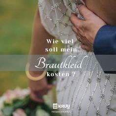 Der schönste Tag im Leben ist nicht nur wunderbar, sondern auch teuer! Hier verraten wir dir, wieiel geld du für dein Brautkleid ausgeben solltest. Heiraten mit KRUU!  #brautkleid #hochzeit #heiraten #kruu #liebe #kosten #planung #hochzeitsplanung Perfect Wedding Dress, Church Weddings, Helpful Tips, Newlyweds, Getting Married, Tips And Tricks, Life, Money