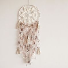 Wall hanging dreamcatcher, boho decor, handmade, wall hanging, bedroom decor boho