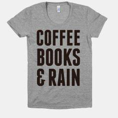 Coffee Books & Rain