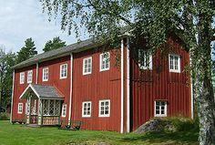 Fågelsjö gammelgård - Gården bortom åa
