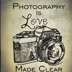 Photography is love made clear. This is Nikon Love.