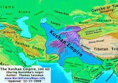 Image result for kanishka kingdom