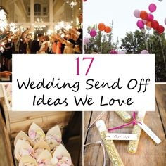 17 Wedding Send Off Ideas We Love