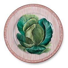 Love this @pintoparis plate ❤️❤️ #albertopinto #plates #stripes #potager