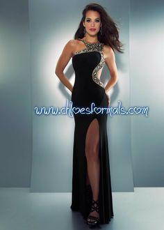Sizes:  0 - 12   $458  Color:  Black/Gold    #9-81818-90113