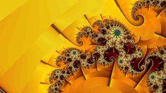 Si les cités d'or existaient, elles ressembleraient probablement à cette fractale : jaunes et étincelantes, constituées d'escaliers en colimaçon gigantesques et de lustres incrustés de saphirs...