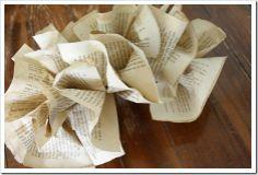 """ The Shabby Creek Cottage "" - Farmhouse & Cottage DIY & Design Blog: 31 days: Book page garland"