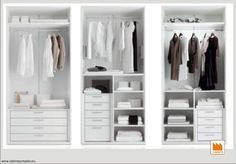 CABINE ARMADIO Wardrobes, Sweet Home, House Design, Bedroom, House Styles, Closet, Google, Michelangelo, Scale