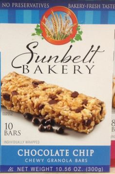 Sunbelt Bakerys CHOCOLATE CHIP Chewy Granola Bars 10Count 12 Boxes >>> More info could be found at the image url.